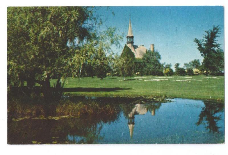 Replica Church of St Charles Grand Pre Nova Scotia