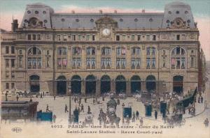 Saint-Lazare Station, Paris, France, 1900-1910s