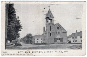 Lisbon Falls, Me, Catholic Church