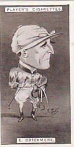 Player Vintage Cigarette Card Racing Caricatures 1925 No 11 E Crickmere
