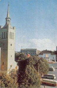 B110345 Estonia Tallin Victory Square Auto Busses Church Eglise