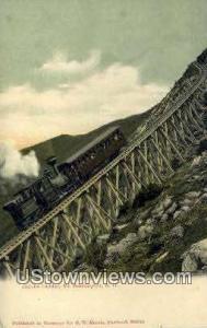 Mt. Washington Cog Railway Mount Washington NH Unused