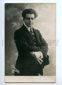 243158 Giuseppe ANSELMI Italian OPERA Singer TENOR old PHOTO