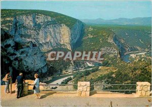 Modern Postcard Route Gorges of Ardeche The Belvedere Greenhouse of Tourre ne...