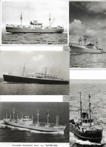 Orient Passenger Liner Canberra Lloyd And More RPPC Ship Postcard Lot of15 01.12