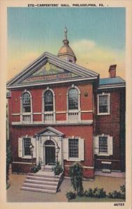Pennsylvania Philadelphia Carpemters' Hall