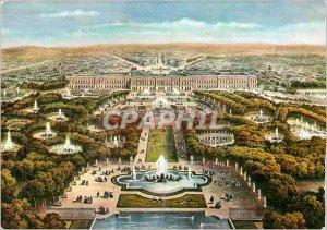 Modern Postcard Versailles Panorama