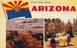 Arizona Greetings From Arizona 1970