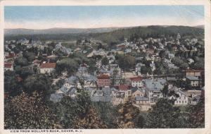 DOVER, New Jersey, PU-1919; View From Moller's Rock