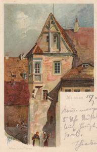 MEISSEN , Saxony , Germany , 1904 ; Afranische Pfarre