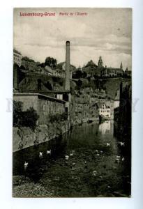 158208 LUXEMBOURG GRUND Alzette Vintage RPPC