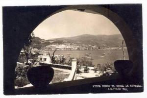 RP, Vista Desde El Hotel La Riviera, Acapulco, Gro., Mexico, 1930-1950s