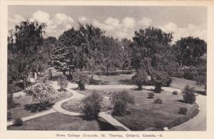 Alma College Grounds , ST. THOMAS , Ontario , Canada , 1930s