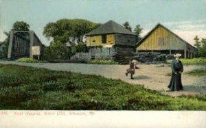 Fort Halifax in Winslow, Maine