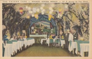 NOGALES, Sonora, Mexico, 1930-40s; The Cavern Cafe
