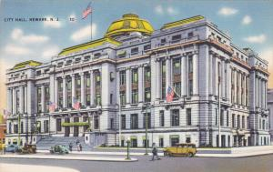 City Hall, NEWARK, New Jersey, 1930-1940s
