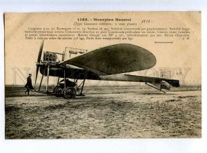 205337 FRANCE AVIATION airplane Hanriot Hauser #1585 old