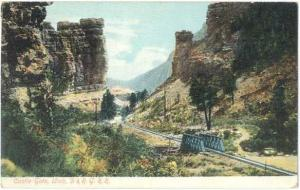 D/B Castle Gate Utah UT & Rio Grande Railway