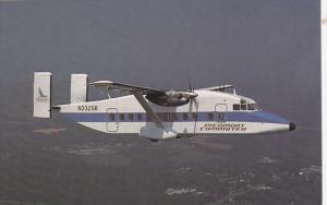 Sunbird Airlines Piedmont Commuter Prop-Jet Shorts 330 in Flight