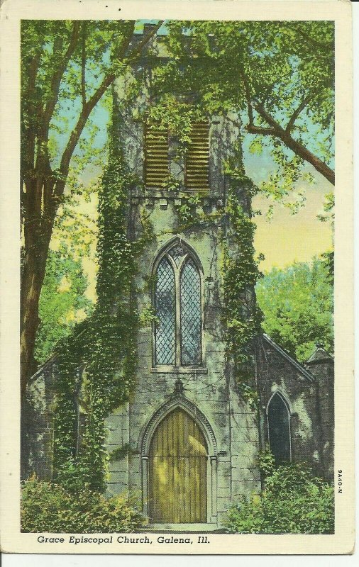 Galena, ILL., Grace Episcopal Church Illinois