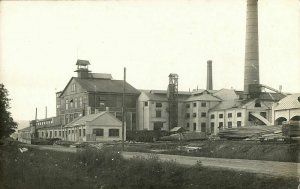 estonia, JÄRVAKANDI JERWAKANT, Tehased, Glass Factory (1910s) RPPC Postcard
