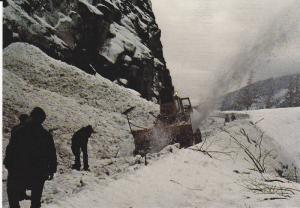 Snow Blower , Canyon Highway , B.C. , Canada , 60-80s