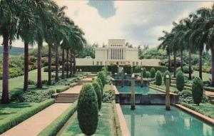 Hawaii Oahu The Mormon Temple