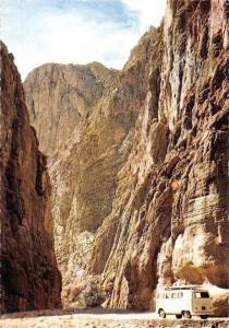 Morocco Tinerhir, The Todra Gorges, Les Gorges du Todra Auto Car Voiture