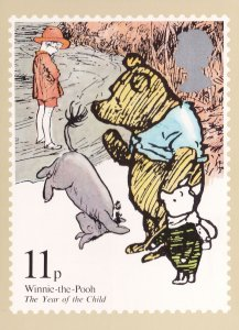 Winnie The Pooh Limited Edition Book PHQ Postcard
