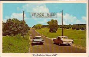 FL Lake Wales Spook Hill Greetings From