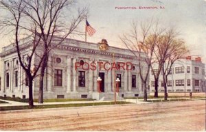 1914 POST OFFICE, EVANSTON, IL