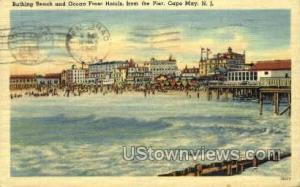 Bathing Beach  Cape May NJ 1947