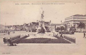 France Cannes Monument Edouard VII et le Casino 1933