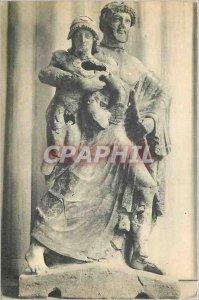 Postcard Modern Museum D Olympia Zeus and Ganimidis