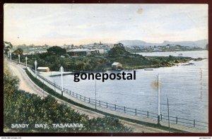 dc979 - AUSTRALIA Sandy Bay 1910s Hobart Suburb by McVilly & Little