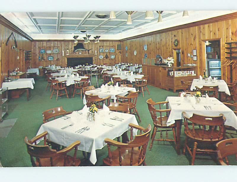 Unused Pre 1980 WHISPERING PINES MOTEL RESTAURANT Accomac Virginia VA Hs4275