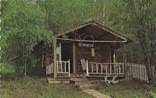 Canada Yukon Dawson City Robert W Service's Cabin