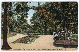 Auburndale, Mass, U.S.A., Norumbega Park, North Court Circle