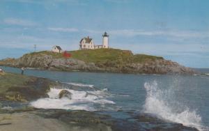 YORK, Maine; 40-60s; Nubble Lighthouse, Cape Neddick Light