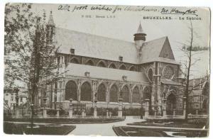 Belgium, Brussels, Bruxelles, Le Sablon 1904 used Postcard