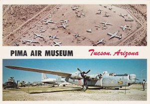 TUCSON, Arizona, 1950-70s; 2-Views, Pima Air Museum