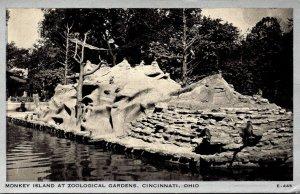 Ohio Cincinnati Zoological Gardens Monkey Island