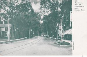 DANBURY , Connecticut , 1901-07 ; Main Street
