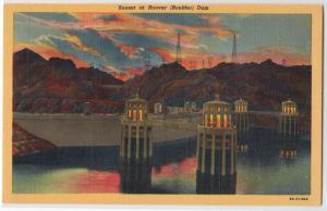 Sunset Boulder Dam CO