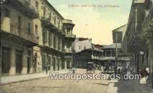 A Street City of Panama Republic of Panama Postal Used Unknown