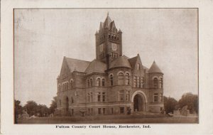 ROCHESTER Indiana - FULTON COUNTY COURT HOUSE 1912 / 815 Main St