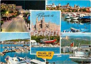 Modern Postcard Palma de Mallorca