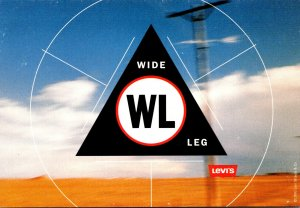 Advertising Levi's Wide Leg