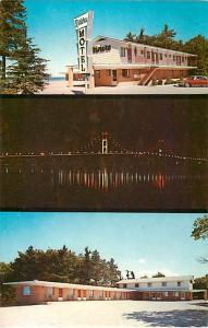 Riviera Motel on the Water Mackinaw City Michigan MI