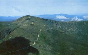 NH - Mt Washington. Aerial View, Auto Road